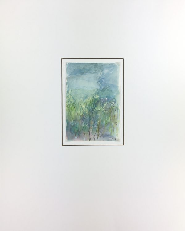 Abstract Modern Original Art - Bleu Paysage, Eric Brault, 1900