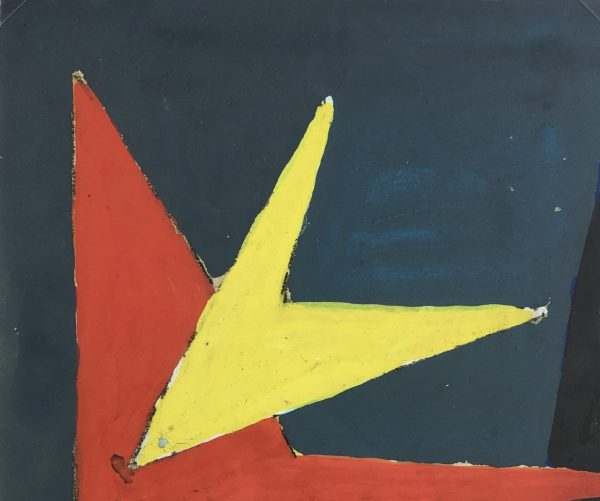 Abstract Modern Original Art - Interstellar, French, 2000s