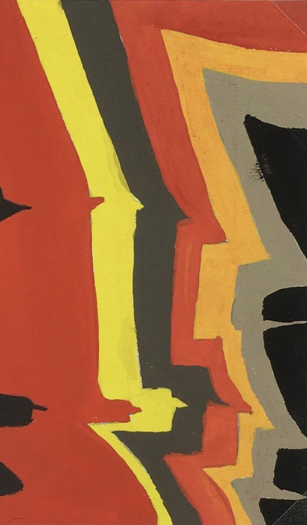 Abstract Modern Original Art - Modern, French, c.1960