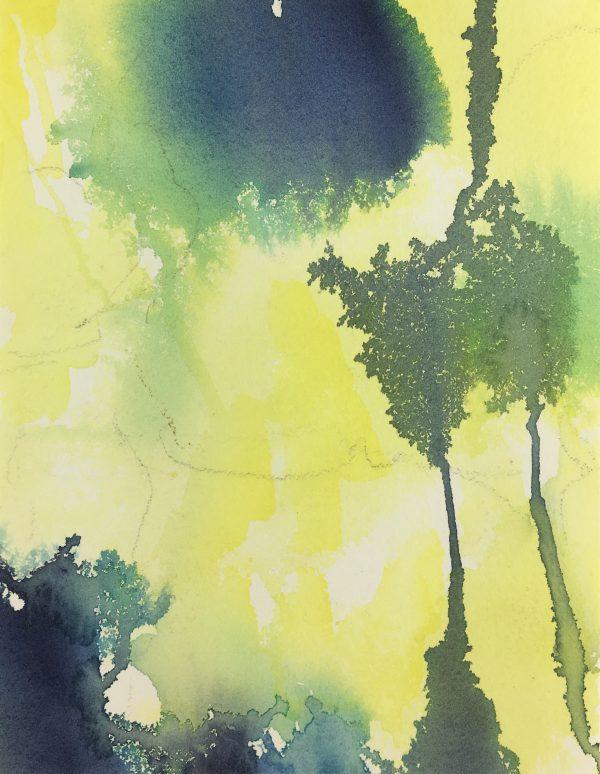 Abstract Modern Original Art - Watercolor - Modern, 2005