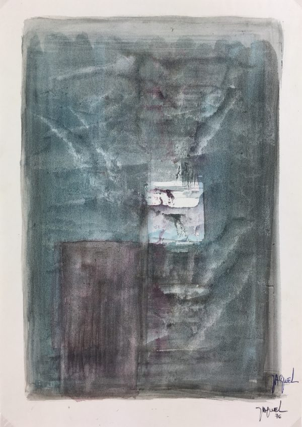 Abstract Modern Original Art - Abstract, Jaquel, 1976