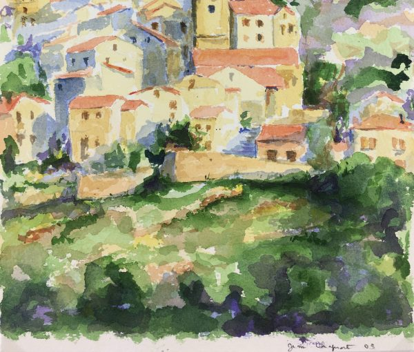 Provence, France Original Art - Provence, Jean Chapront, 2003