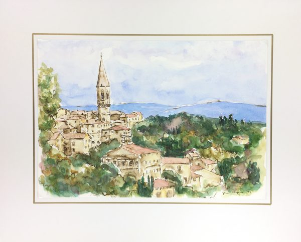 Provence, France Original Art - Provence, JEan Chapront, 1998