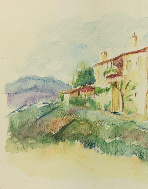 Provence, France Original Art - Provence, Jean Chapront, 2004
