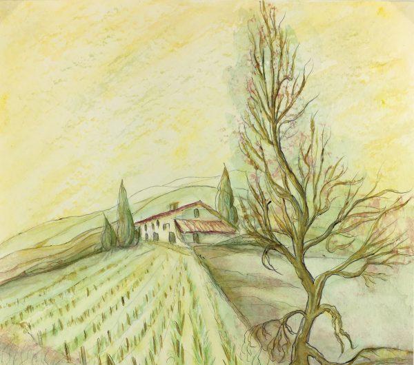 Provence, France Original Art - Provence, Fischer, c.1960