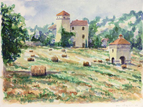 Provence, France Original Art - Provence, Jean Chapront, 2003