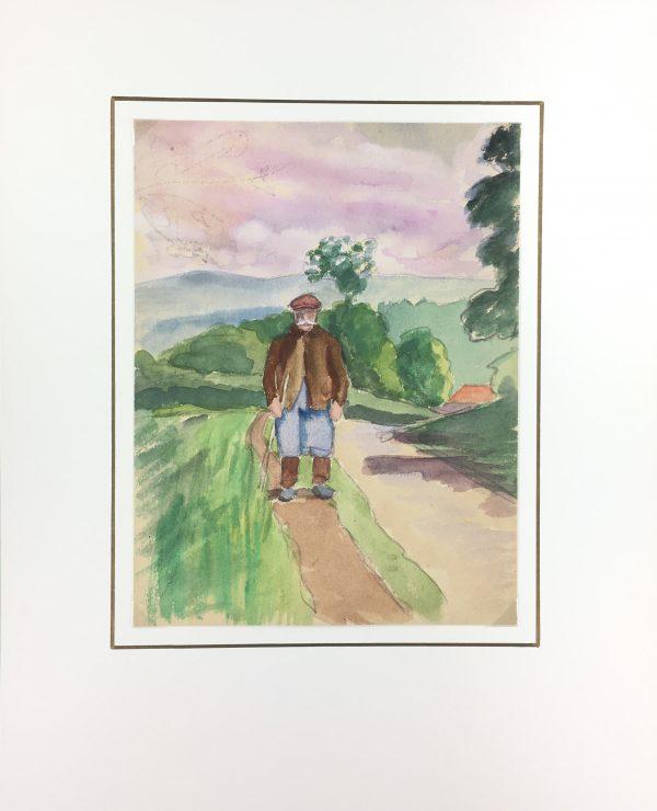 Provence, France Original Art - Provence, Nestor, c.1950
