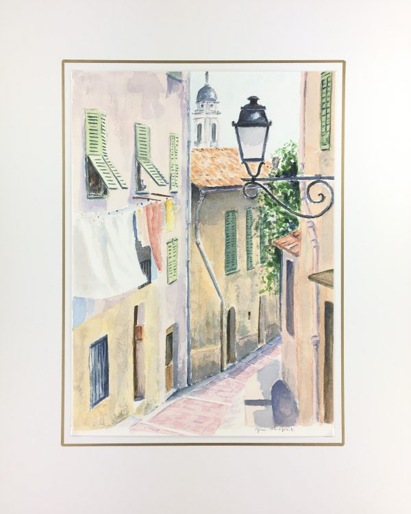 Provence, France Original Art - Provence, Jean Chapront, 1999