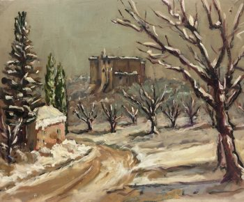 Provence, France Original Art - Provence, Raymond Bailly, c.1960