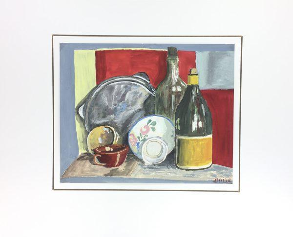 Still Life Original Art - Still Life, Baire, c.1930
