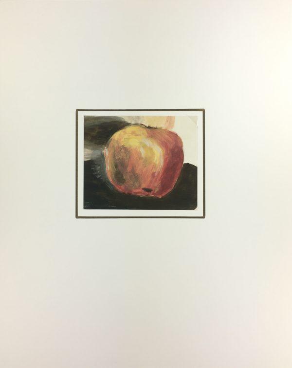 Still Life Original Art - Apple, French School, 1986