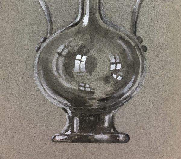 Still Life Original Art - Study, Decanter, c.1950