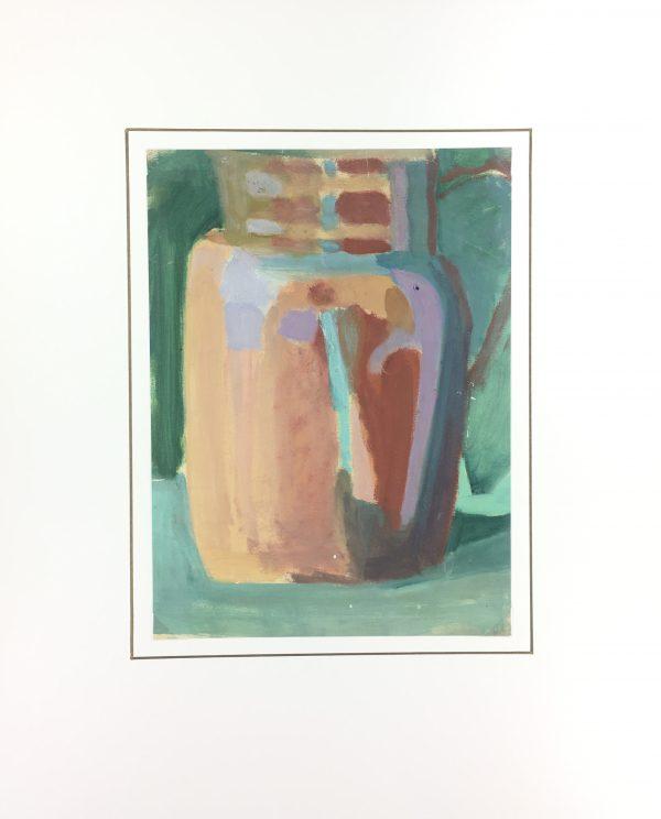 Still Life Original Art - Gres Pitcher, Madeleine Scali, c.1950