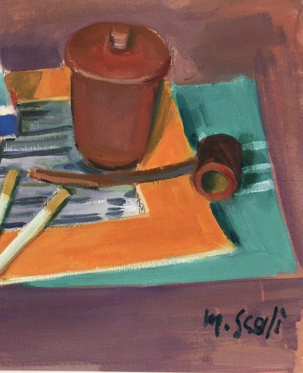 Still Life Original Art - Still Life, Madeleine Scali, c.1960