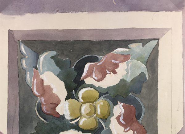 Still Life Original Art - Etude, Aline Bonnardal, c.1920