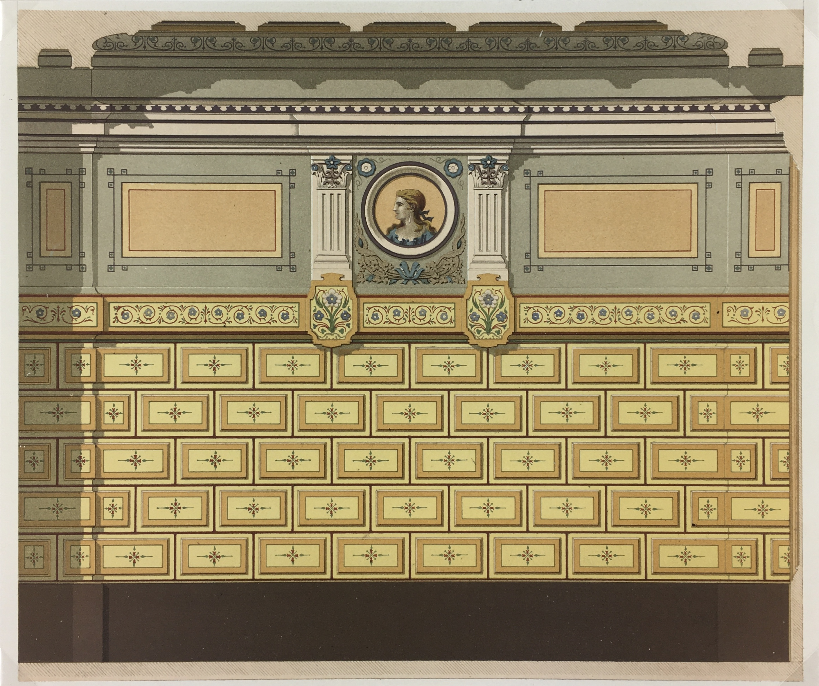 Architecture Print - Decor, c.1880