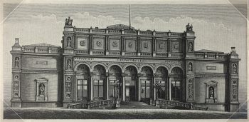 Architecture Print - Architectural, Meyers, 1894