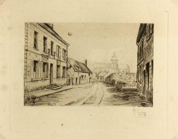 Engravings & Etchings Original Art - Arcy, G.P., c.1930