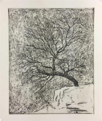 Engravings & Etchings Original Art - Artist's Proof, Mestgen, c.1990