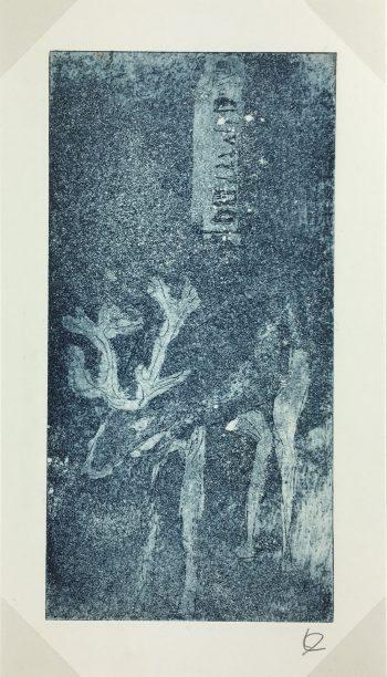 Engravings & Etchings Original Art - Matrice, Laurence Daubenton, C.2000
