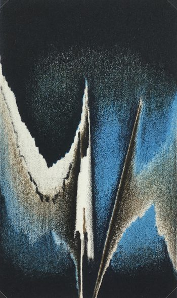 Abstract Modern Original Art - Abstract Litho, French, c.2000