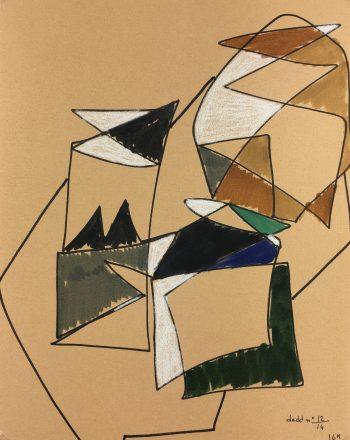 Abstract Modern Original Art - Abstract Still, Dedd, 1980s