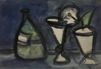 Abstract Modern Original Art - Nature Morte, Rémy Duval, c.1950