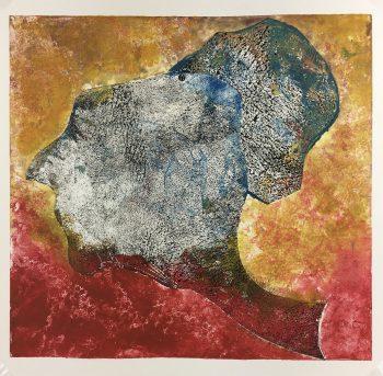 Abstract Modern Original Art - Abstract, Kismine Varner, c.1990