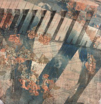 Abstract Modern Original Art - Modern Approach, Kismine Varner, c.1990