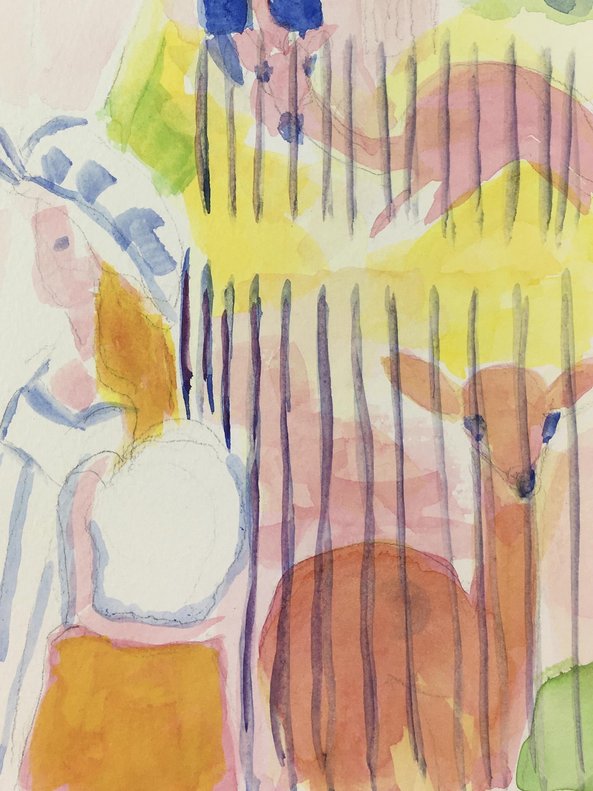 Animals Original Art - Zoo, Rita Deymonnaz, 2000s