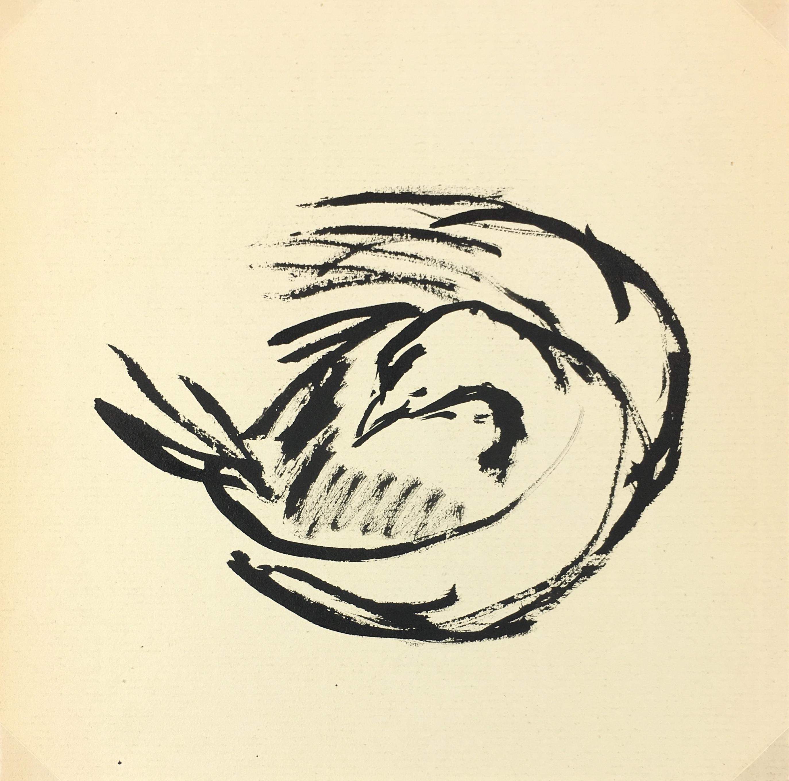 Animals Original Art - Chicken, Kei Mitsuuchi (1948-01), 1990