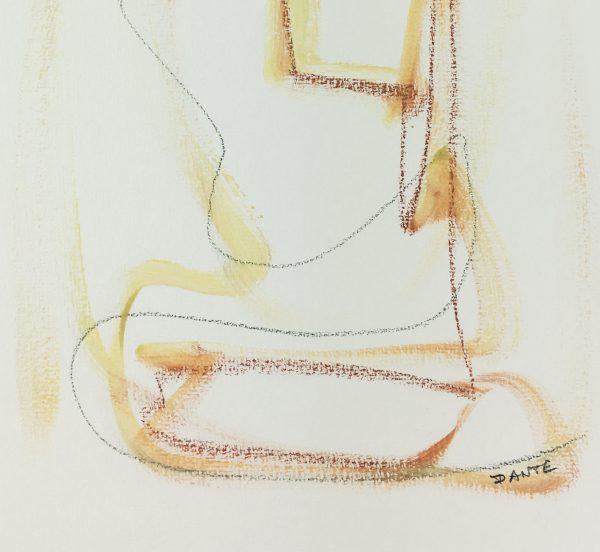 Dante Modern Original Art - Visages, Dante, 2019