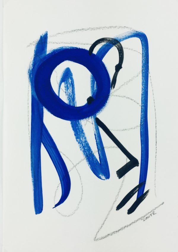 Dante Modern Original Art - Abstract, Dante, 2018
