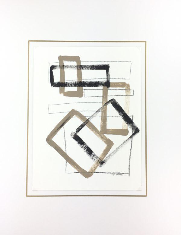 Dante Modern Original Art - Forms, Dante, 2019