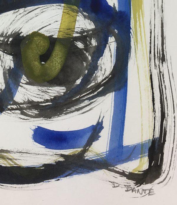 Dante Modern Original Art - Quantic, Dante, 2018
