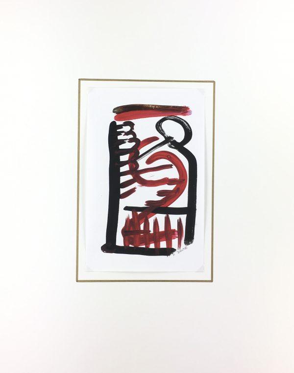 Dante Modern Original Art - Visages, Dante, 2018