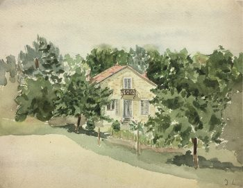 Country Landscapes Original Art - La Campagne, J.L., C.1930