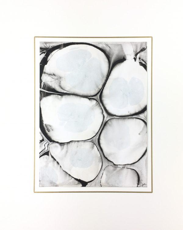 Modern Original Art - Black Marble, Spe, 2018