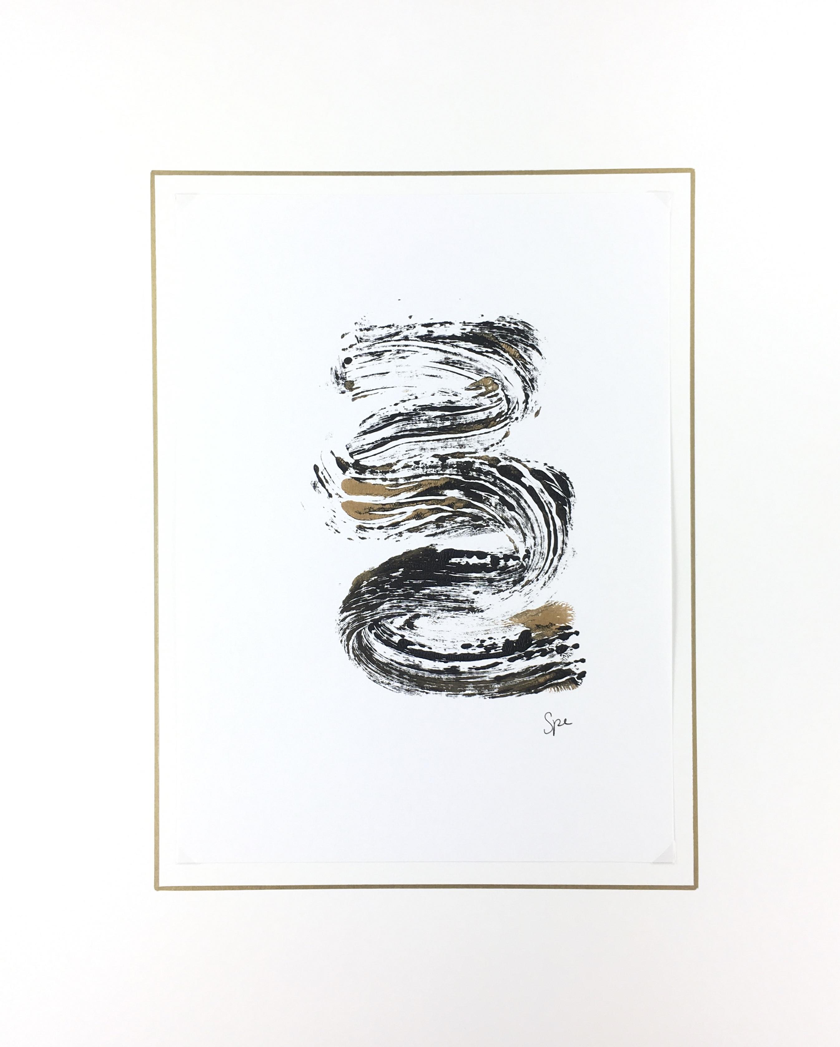 Modern Original Art - Flow, Spe, 2018