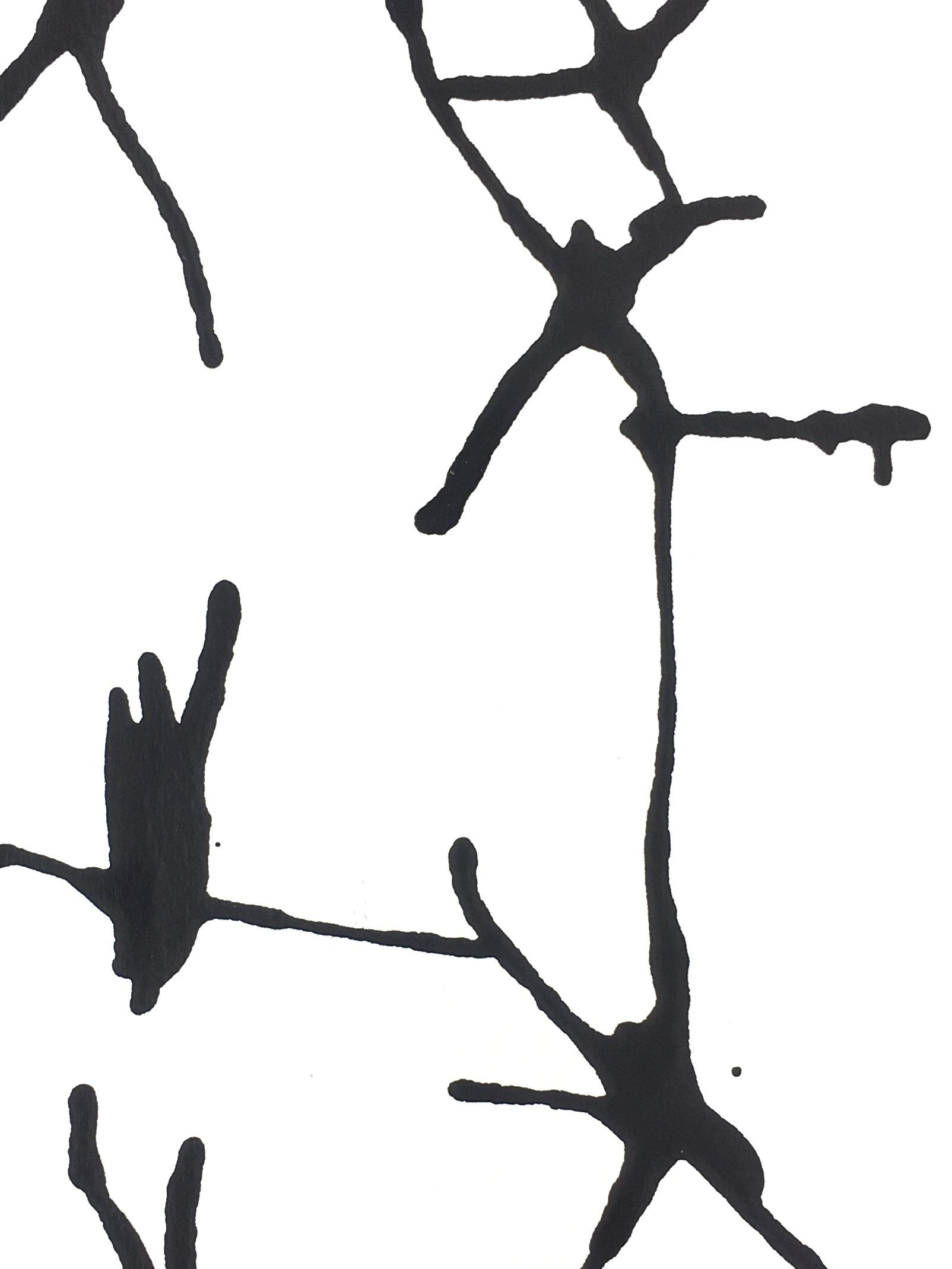 Modern Original Art - Black & White, Spe, 2018