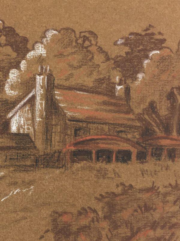 Farm Landscapes Original Art - Lake District, C.1980