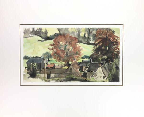 Farm Landscapes Original Art - Farming Estate, C.1960