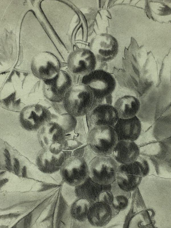 Farm Landscapes Original Art - Grapevine, C.1920