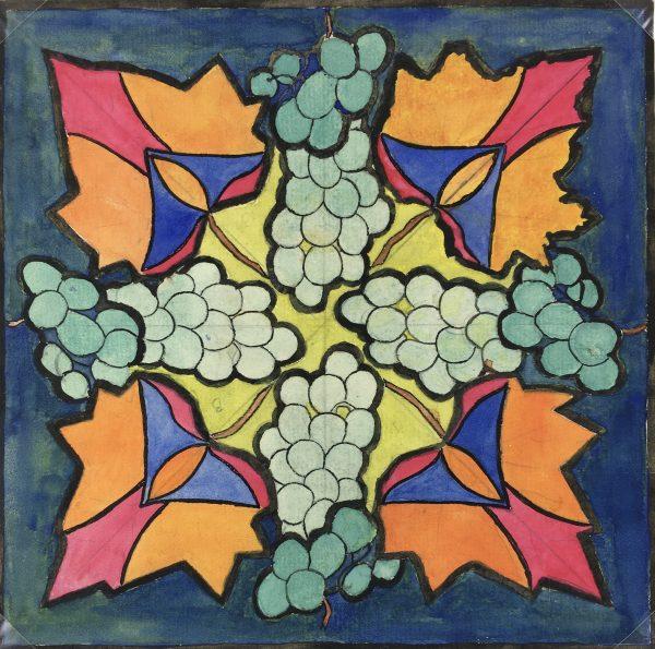 Farm Landscapes Original Art - Wine Grapes, Huguette Briet, 1930