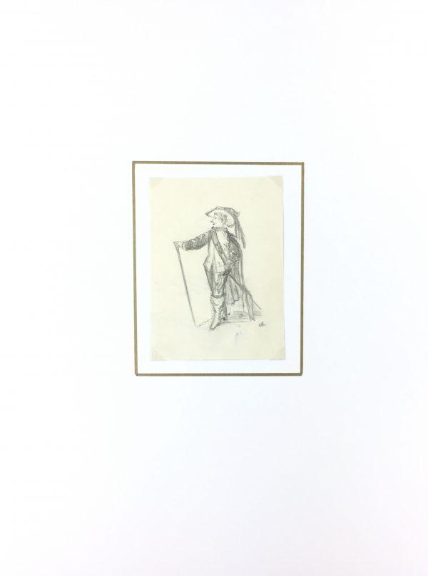 Figures Original Art - La Noblesse, C.1940