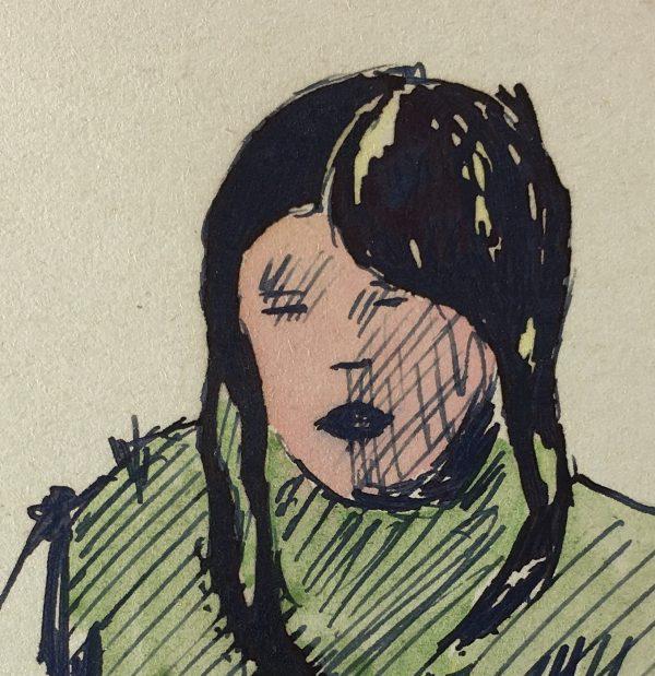 Figures Original Art - Portraits, C.1960