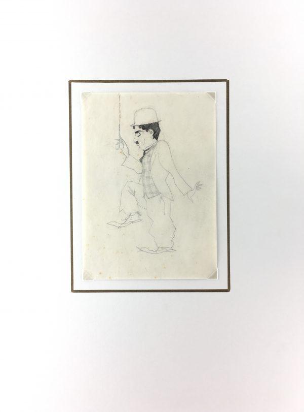 Figures Original Art - Chaplin, Gabriel Spat, C.1930