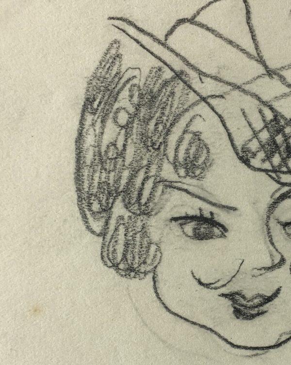 Figures Original Art - Mademoiselle, Gabriel Spat, C.1930