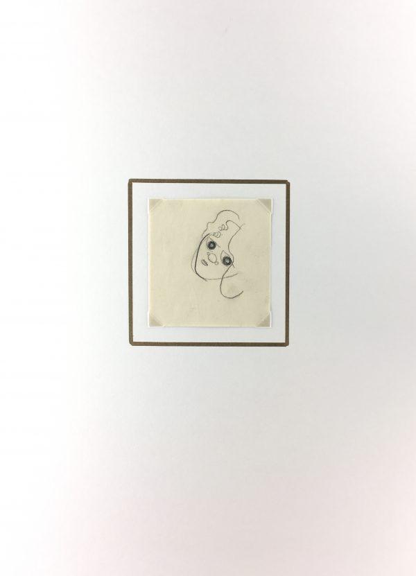 Figures Original Art - La Doute, Gabriel Spat, C.1930