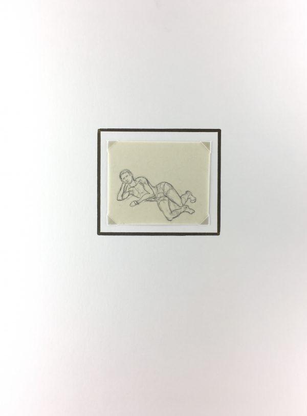 Figures Original Art - Drawing, Werner Bell , C.1960